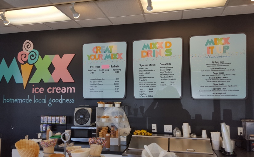 Beat the heat with Mixx Ice Cream in Brier Creek